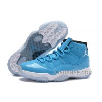 "Air Jordans 11 Retro ""Pantone"" University Blue/White-Black For Sale Hot"