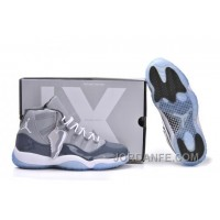 Air Jordan 11 Retro Medium Grey White Cool Grey Xmas Deals