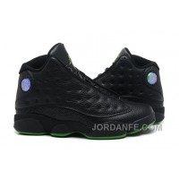 Air Jordan 13 Retro Black Green Discount