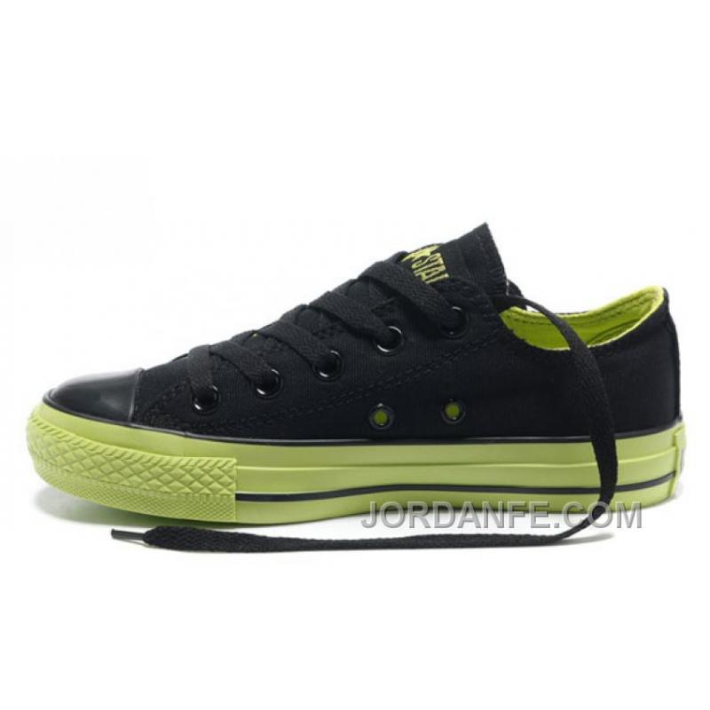 6213309c158e USD  60.11  204.36. Dazzle Colour CONVERSE All Star Light Black Green Tops  Casual Canvas Sneakers ...