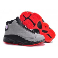 Kids Jordan 13 Premium 3M Reflective Silver Infrared 23 Black New Release