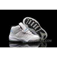 Kids Jordan 11 Legend Blue White Black Xmas Deals