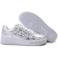 Nike Air Force 1 Low Mens Black White Top 214777