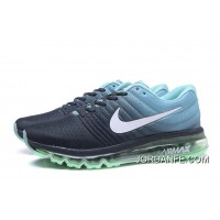 NIKE Air Max2017 Flyknit Men Green Blue Black Copuon Code