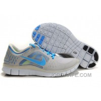 Nike Free Run 3 Light Grey Blue Lastest