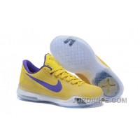 "Kobe 10 Safari Print ""Yellow Purple"" For Sale New Arrival"