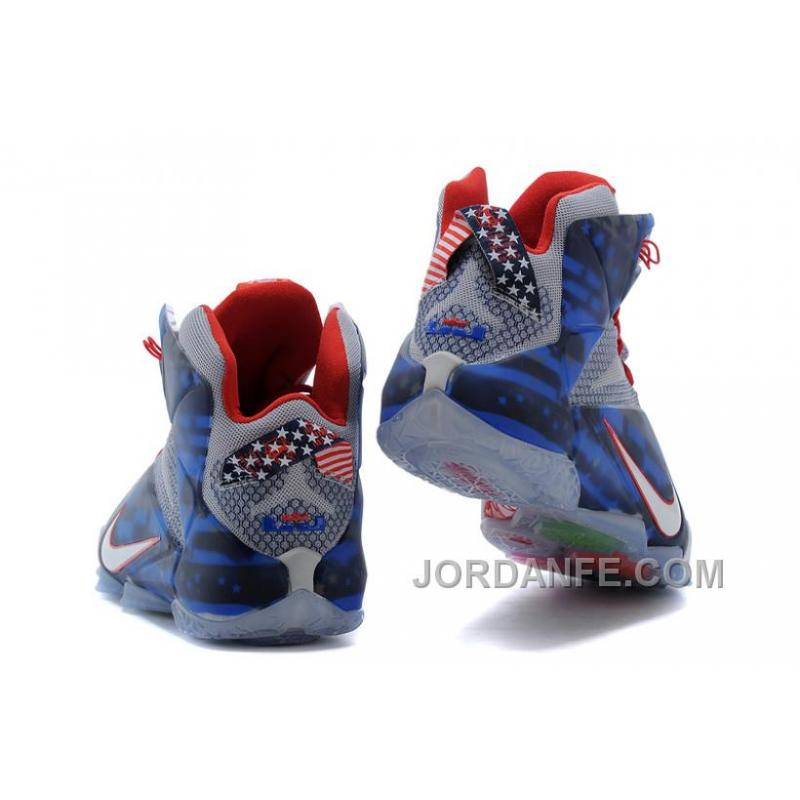 b2551ca1bf30 ... Nike LeBron 12 Independence Day Authentic