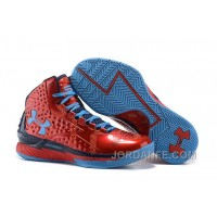 Under Armour UA Curry One PE Red Blue Shoes For Sale Hot