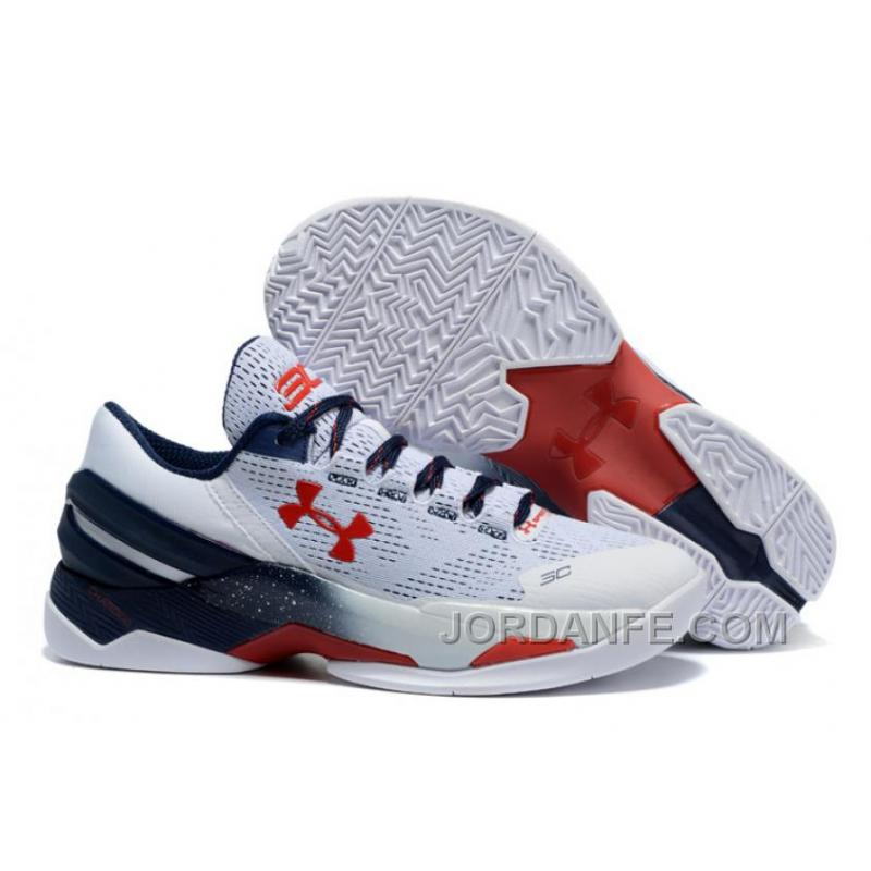 competitive price 4c982 89304 Under Armour Curry 2 Low USA Sneaker Free Shipping