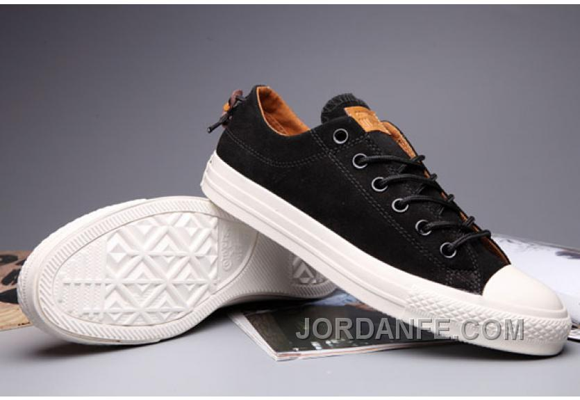 4cd309efb430 CONVERSE X Clot X Undefeated Black Suede Chuck Taylor All Star Bow Back  Shoes For Sale