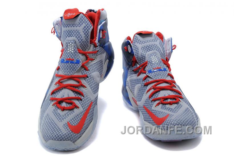 the best attitude 188a4 e0258 Nike LeBron 12 Independence Day Authentic