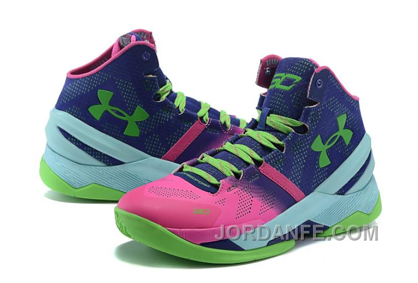 """53c6e90d321 Under Armour Curry 2 """"Northern Lights"""" Shoes For Sale Xmas Deals ..."""
