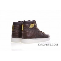 Air Jordan 1 Pinnacle AJ 24K Gold 705075-205 Free Shipping