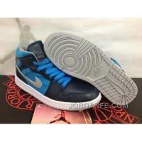 Air Jordan 1 Navy Blue Sky Blue Discount