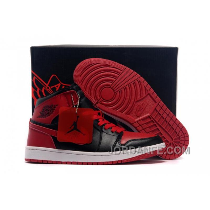 e303e92caa6 USD $80.58 $99.18. Air Jordans 1 High Chicago Bulls Black/Varsity Red Shoes  For Sale ...