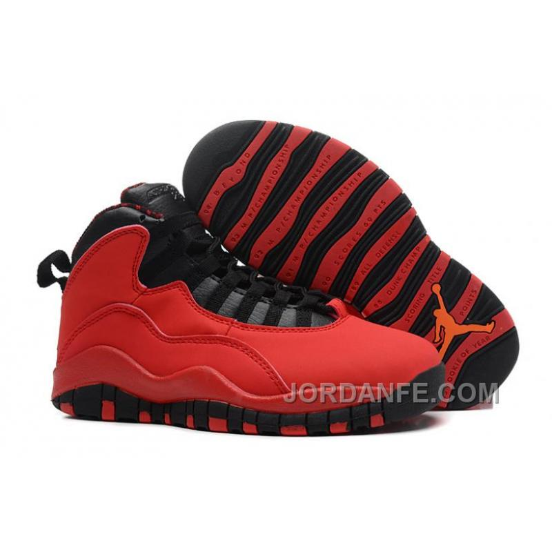 "2a3d7f3b48e Air Jordans 10 Retro ""Fusion Red"" For Sale Top, Price: $80.18 - Air ..."