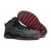 Air Jordans 10 Retro Cool Grey/Infrared-Black For Sale Top