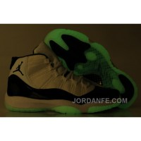 Air Jordan 11 Glow In The Dark Concord Free Shipping