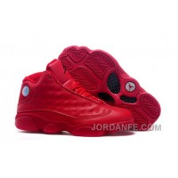 2016 Air Jordans 13 All Red Shoes For Sale Hot