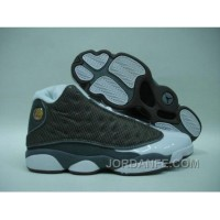 Air Jordan 13 Retro Grey White Hot