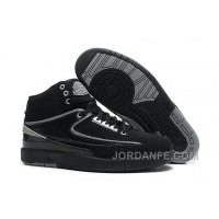 Air Jordan 2 Retro Black Chrome Discount