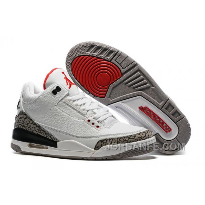 "a18def4640ad3b USD  80.50  99.18. 2016 Air Jordan 3 ""White Cement"" For Sale ..."