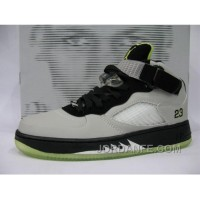 Air Jordan Force Fusion 5 Stealth White Black Bright Cactus Discount