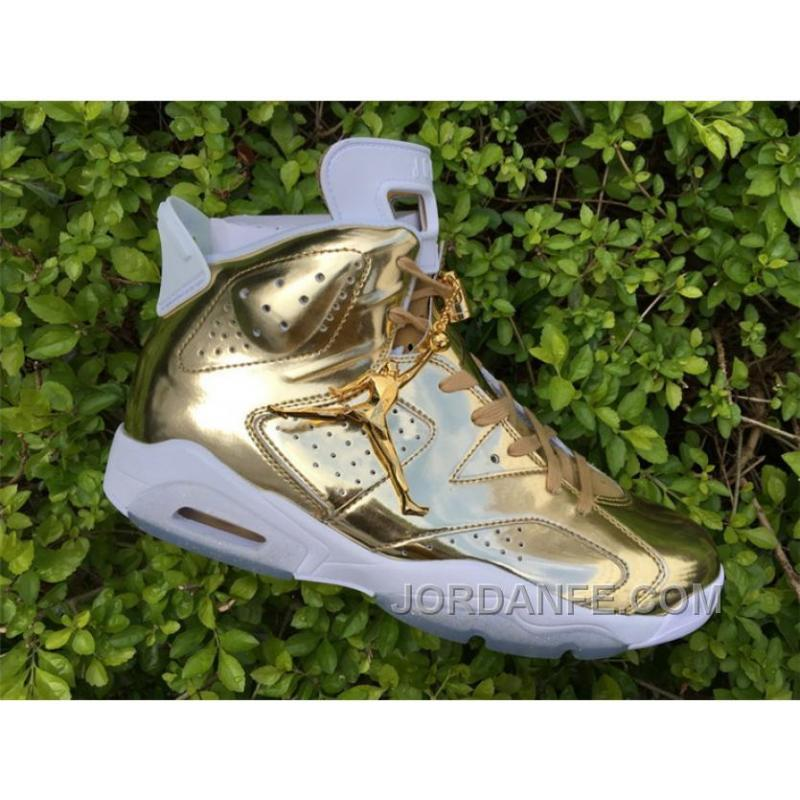 sports shoes 2f721 69e5a Air Jordan 6 6 Pinnacle Gold Free Shipping