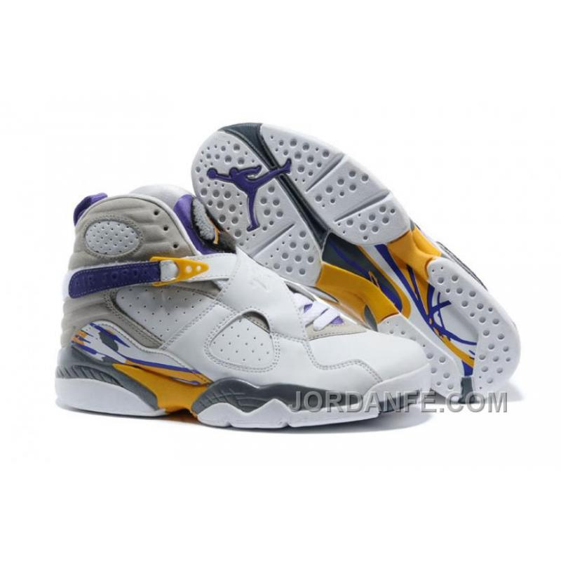 "f0200b587fd3 USD  80.17  99.18. Air Jordans 8 Retro ""Kobe Bryant Lakers Home"" PE For  Sale Free Shipping ..."