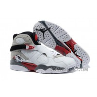 """Air Jordans 8 Retro """"Bugs Bunny"""" White/Black-True Red For Sale Free Shipping"""