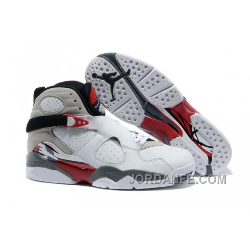 "sports shoes 7c0d5 d395f Air Jordans 8 Retro ""Bugs Bunny"" White/Black-True Red For Sale Free Shipping"