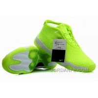Air Jordans Future Glow Volt Gray For Sale Authentic