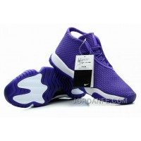 Air Jordans Future Glow Purple White For Sale Xmas Deals