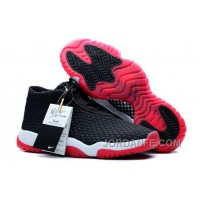 Air Jordans Future Black/Varsity Red-White For Sale Free Shipping