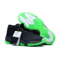 Air Jordans Future Black/Green For Sale Hot