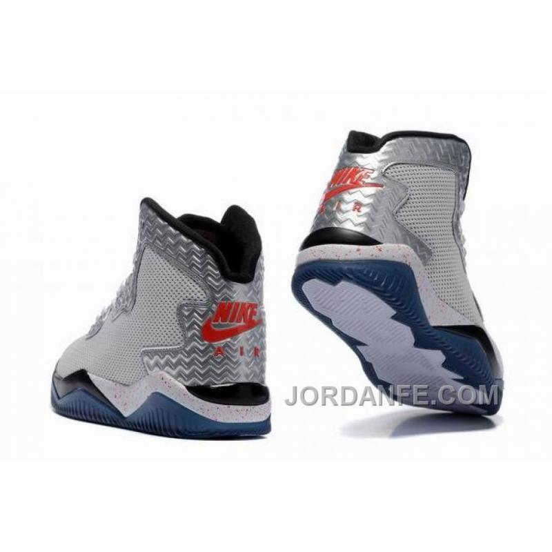 "sports shoes 2a510 5402a ... Jordan Air Spike 40 Forty PE ""Fire Red"" White Fire Red Black ..."