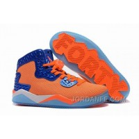 "Jordan Air Spike 40 Forty PE ""Total Orange"" Total Orange/Game Royal-White For Sale Top"