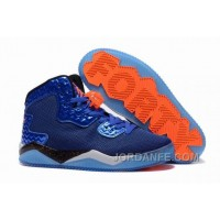 "Jordan Air Spike 40 Forty PE ""Game Royal"" Game Royal/Total Orange-White-Black For Sale Authentic"