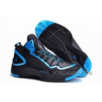 Jordan Super.Fly 2 PO Black-Dark Powder Blue For Sale Xmas Deals