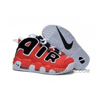 Discount Girls Nike Air More Uptempo Asia Edition Hoop Pack Red Black Top Deals