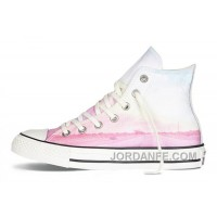 Pink High CONVERSE Chuck Taylor All Star Photo Real Sunset Print Shoes Lastest