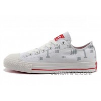 Discount CONVERSE All Star CT OX 100 Club White Cloud Tops Canvas Trainers