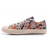 CONVERSE Suede Camouflage Grey Brown All Star Chuck Taylor Sneakers Discount
