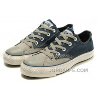 CONVERSE Christmas Collection Blue Grey Tonal Stitching Polk Tops Canvas All Star Shoes Super Deals