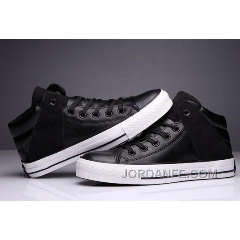 e1178706877b ... Black High Tops CONVERSE Leather Padded Collar Terminator Genisys Chuck  Taylor All Star Discount ...