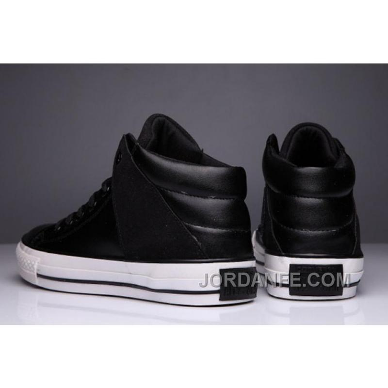 2981112a59dc ... Black High Tops CONVERSE Leather Padded Collar Terminator Genisys Chuck  Taylor All Star Discount