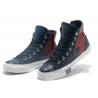 Red Blue CONVERSE Clot X First String Pro MrSandman Chuck Taylor All Star High Top Canvas Sneakers For Sale