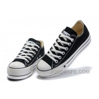 Black Platform CONVERSE All Star Canvas Women Shoes Classic Cheap To Buy
