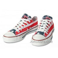 All Star CONVERSE American Flag By John Varvatos Canvas Sneaker Authentic