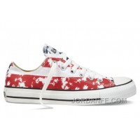CONVERSE American Flag Red White Blue Chuck Taylor All Star Canvas Shoes New Release